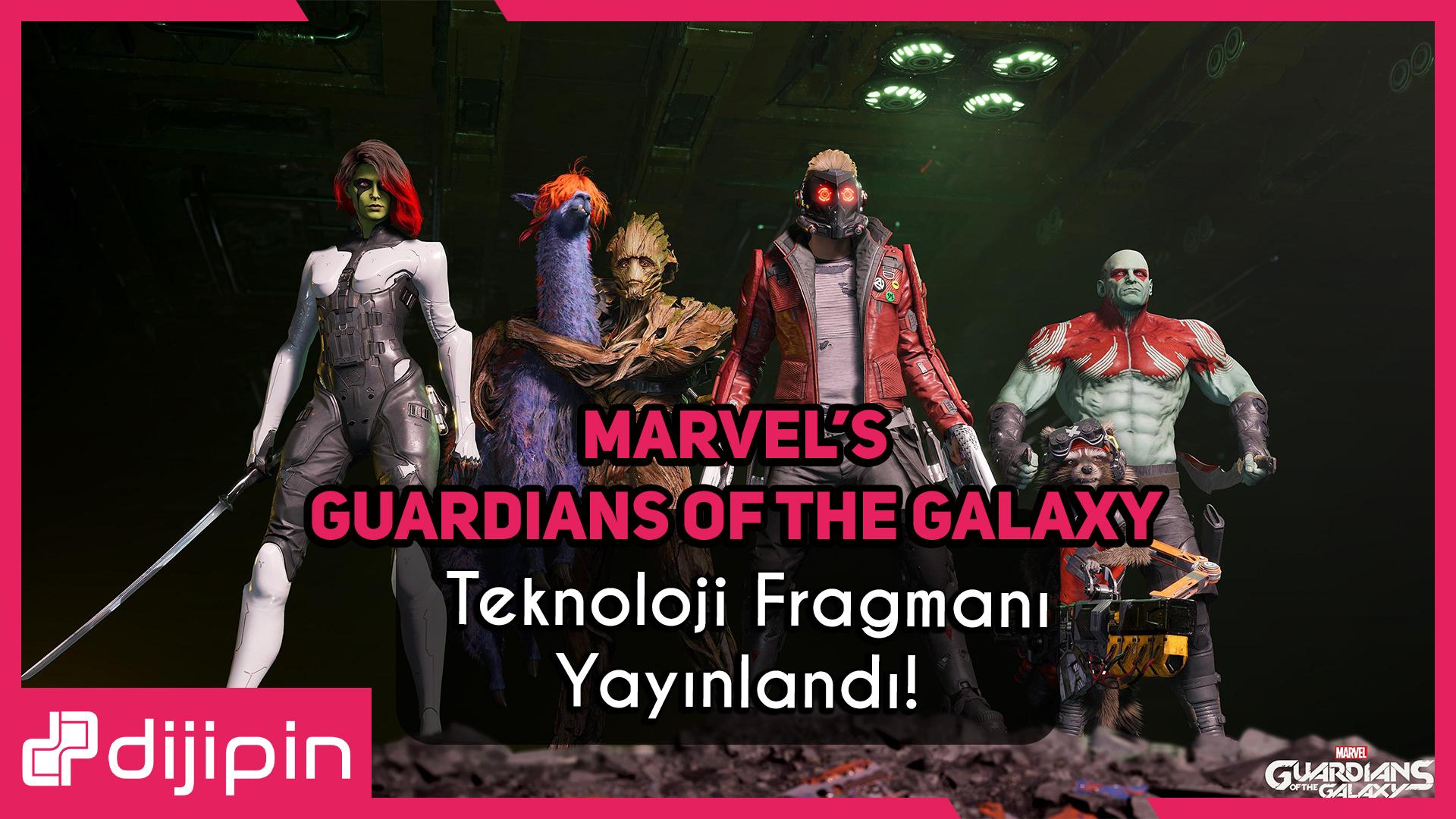 Marvel'ın Guardians Of The Galaxy Oyununun, Pc için Teknoloji Fragmanı Çıktı