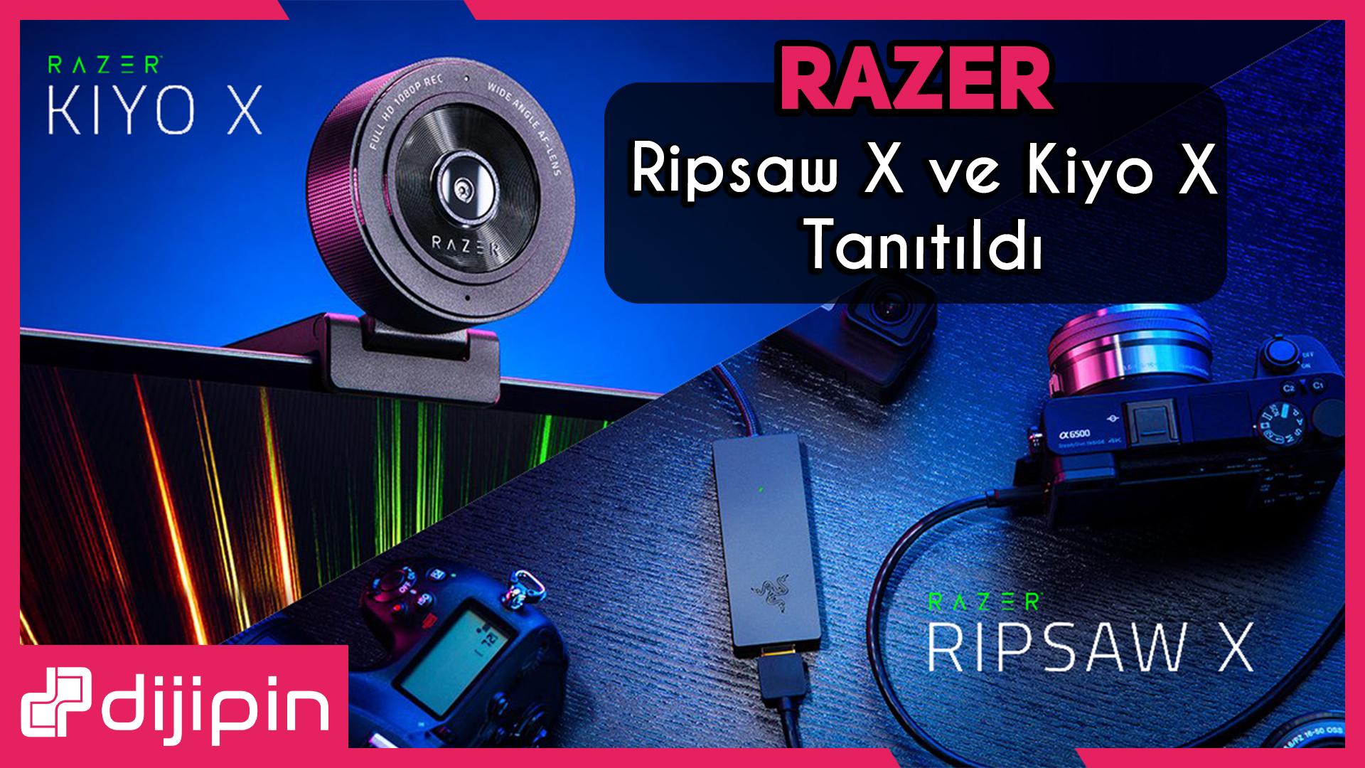 Razer'ın Yeni Webcam ve Capture Kartı Kiyo X ve Ripsaw X Tanıtıldı