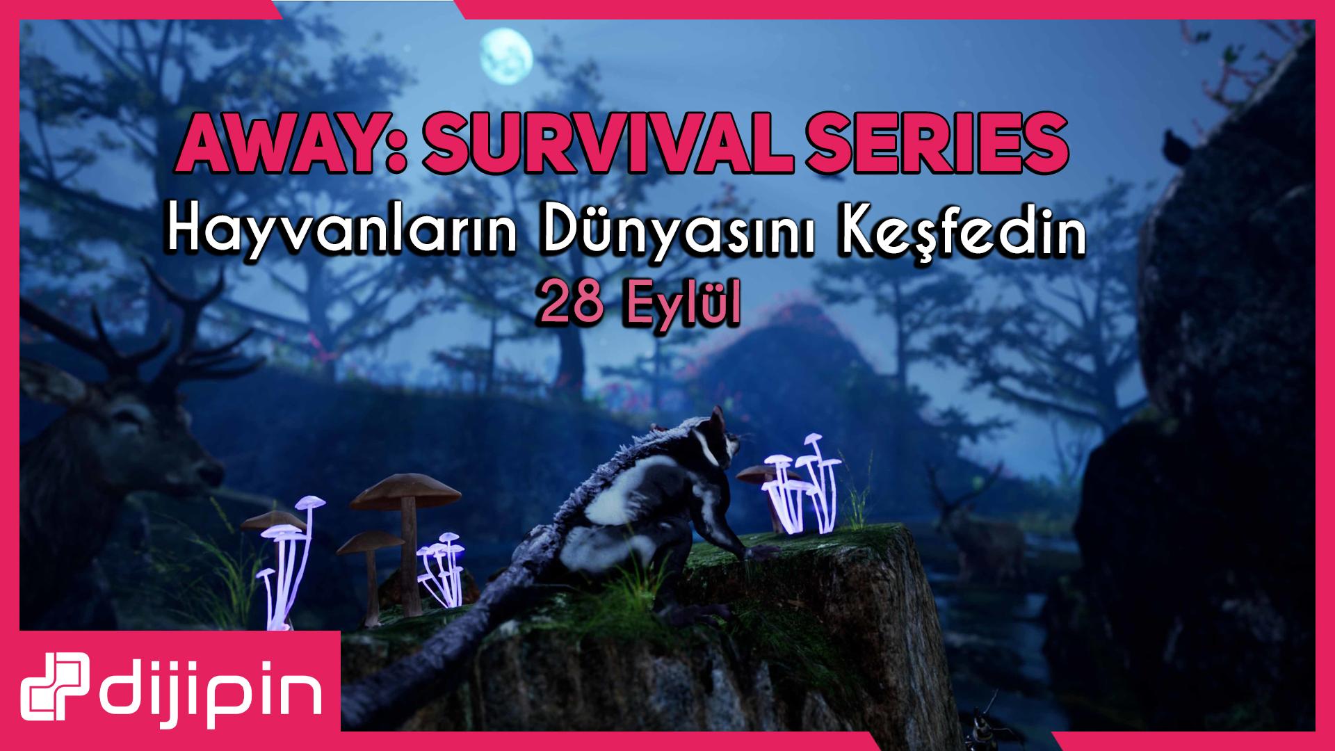 AWAY: The Survival Series 28 Eylül'de Çıkıyor