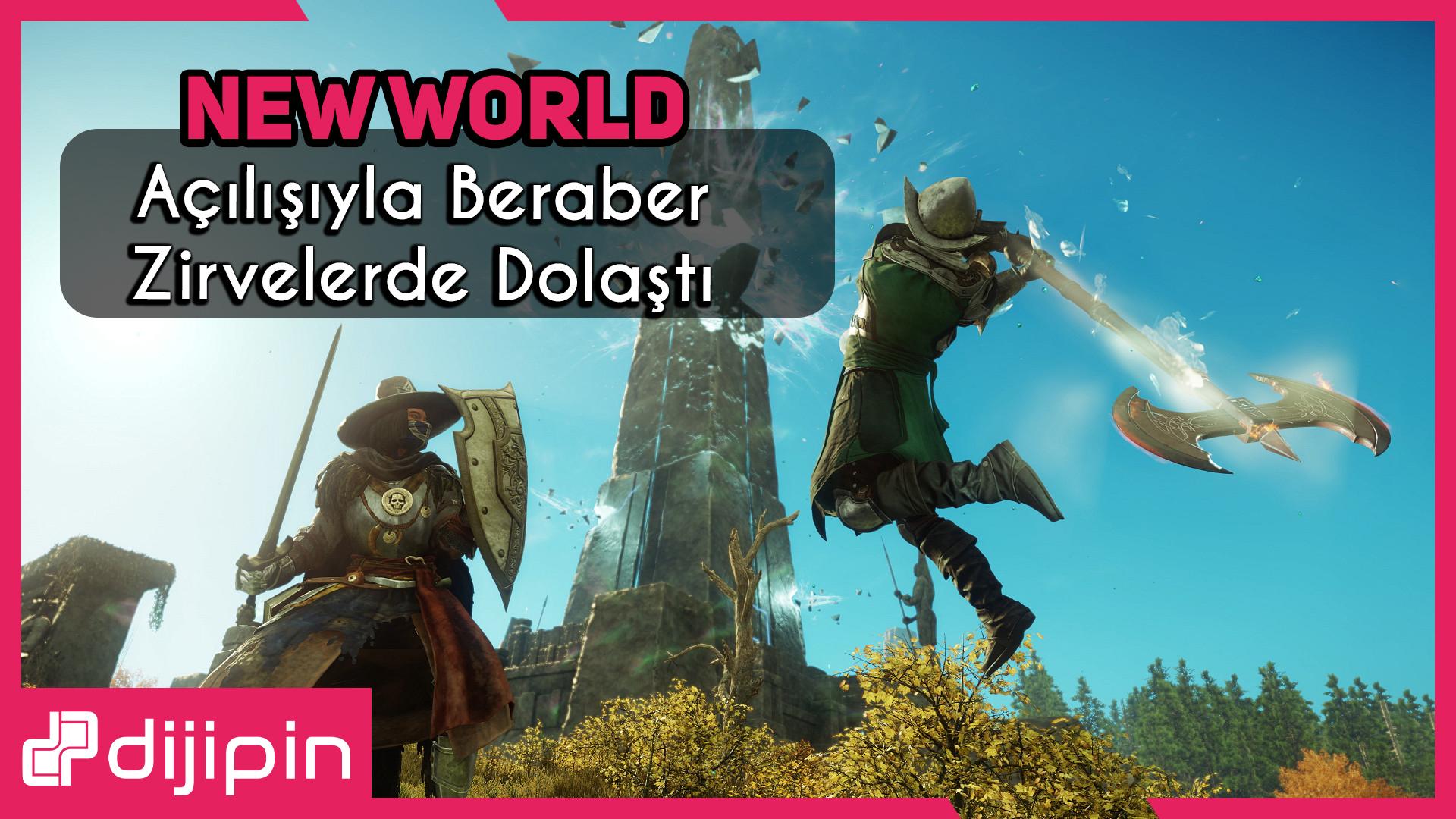 New World Oyunu 700 Bin Oyuncuyla Zirve Başlangıç Yaptı