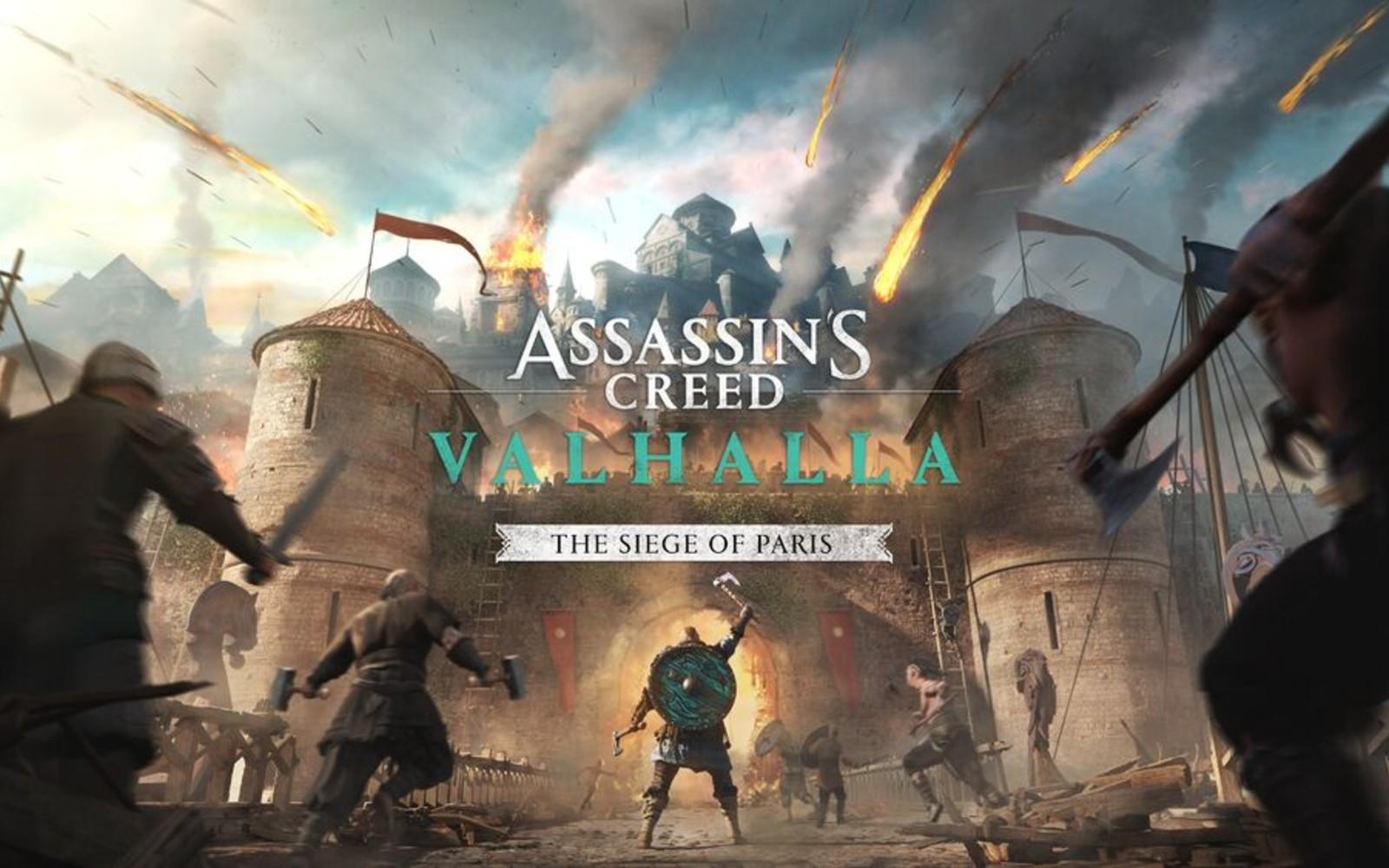 Assassin's Creed Valhalla: The Siege of Paris DLC'si Bu Yaz Geliyor