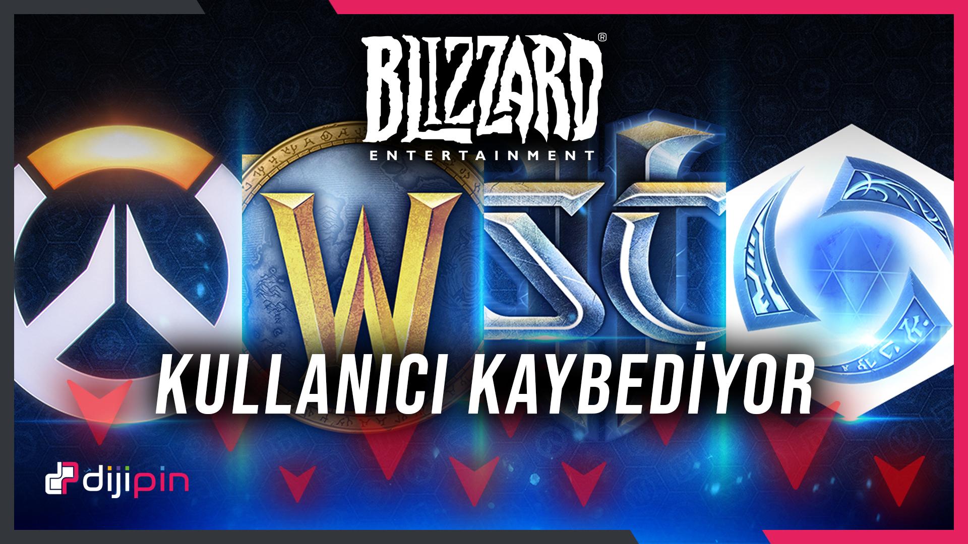 Blizzard'ın Aktif Kullanıcı Sayısı YÜZDE 29 Düşüş Yaşıyor!