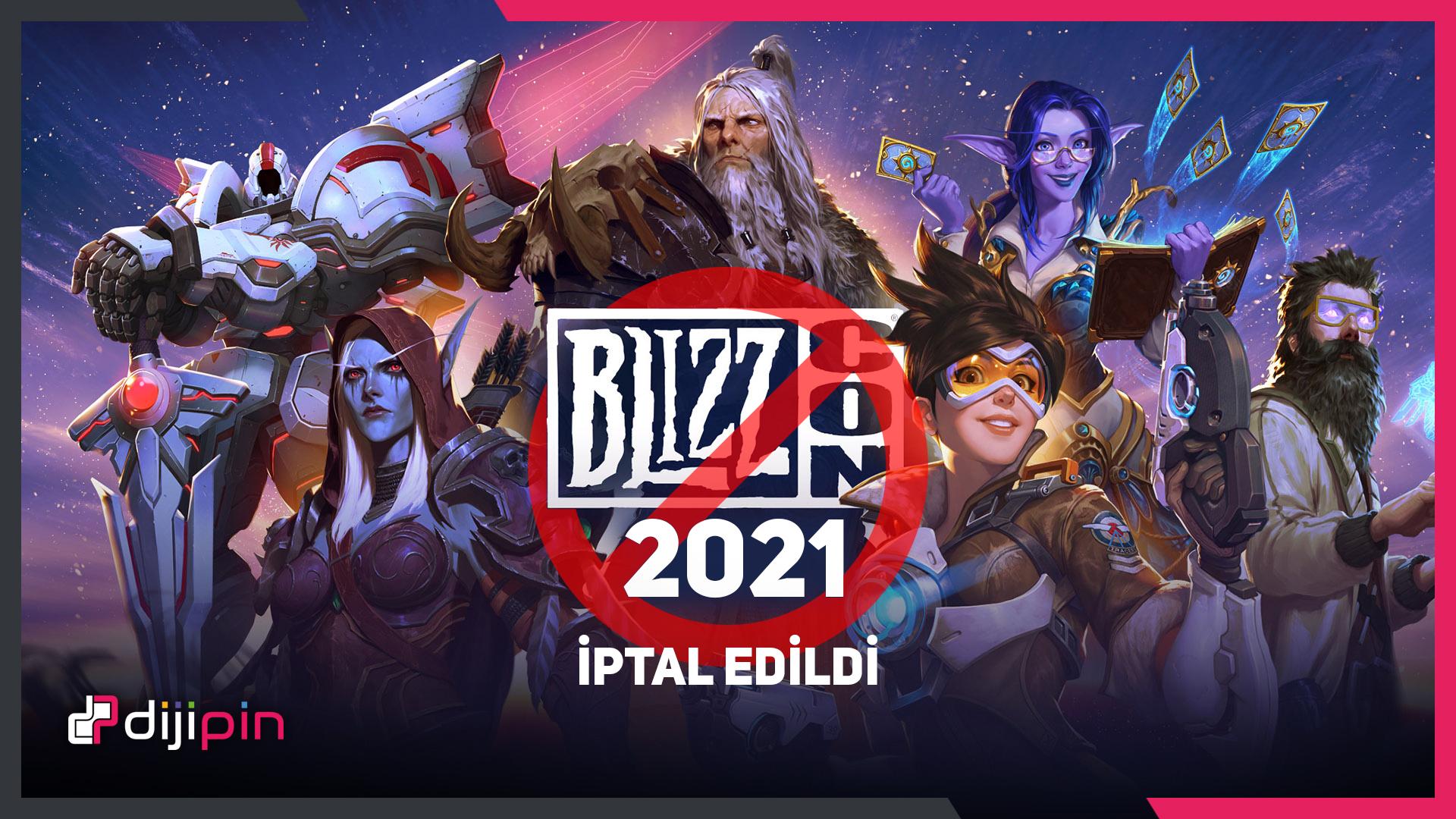 BlizzCon 2021 Resmi Olarak İptal Edildi