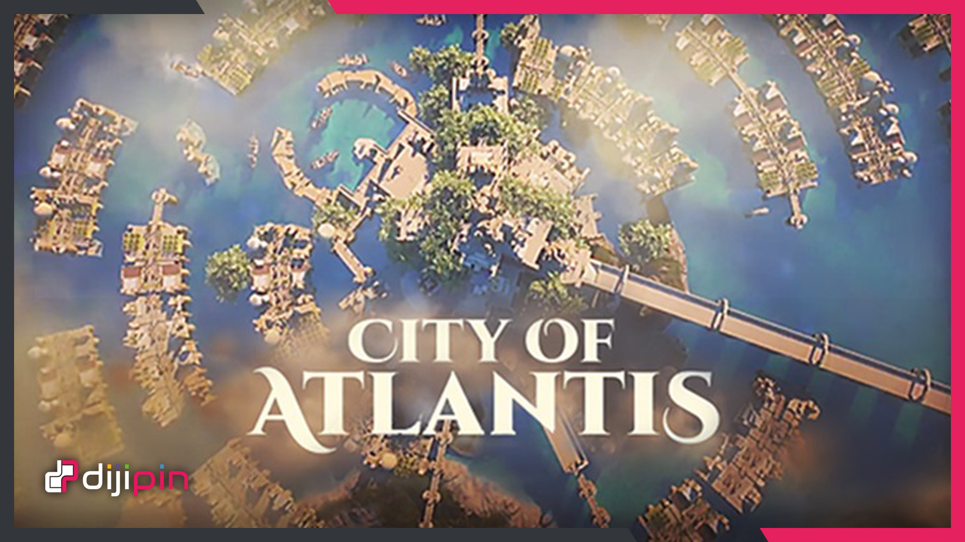 İzometrik Şehir İnşa Etme Oyunu Duyuruldu: City of Atlantis!