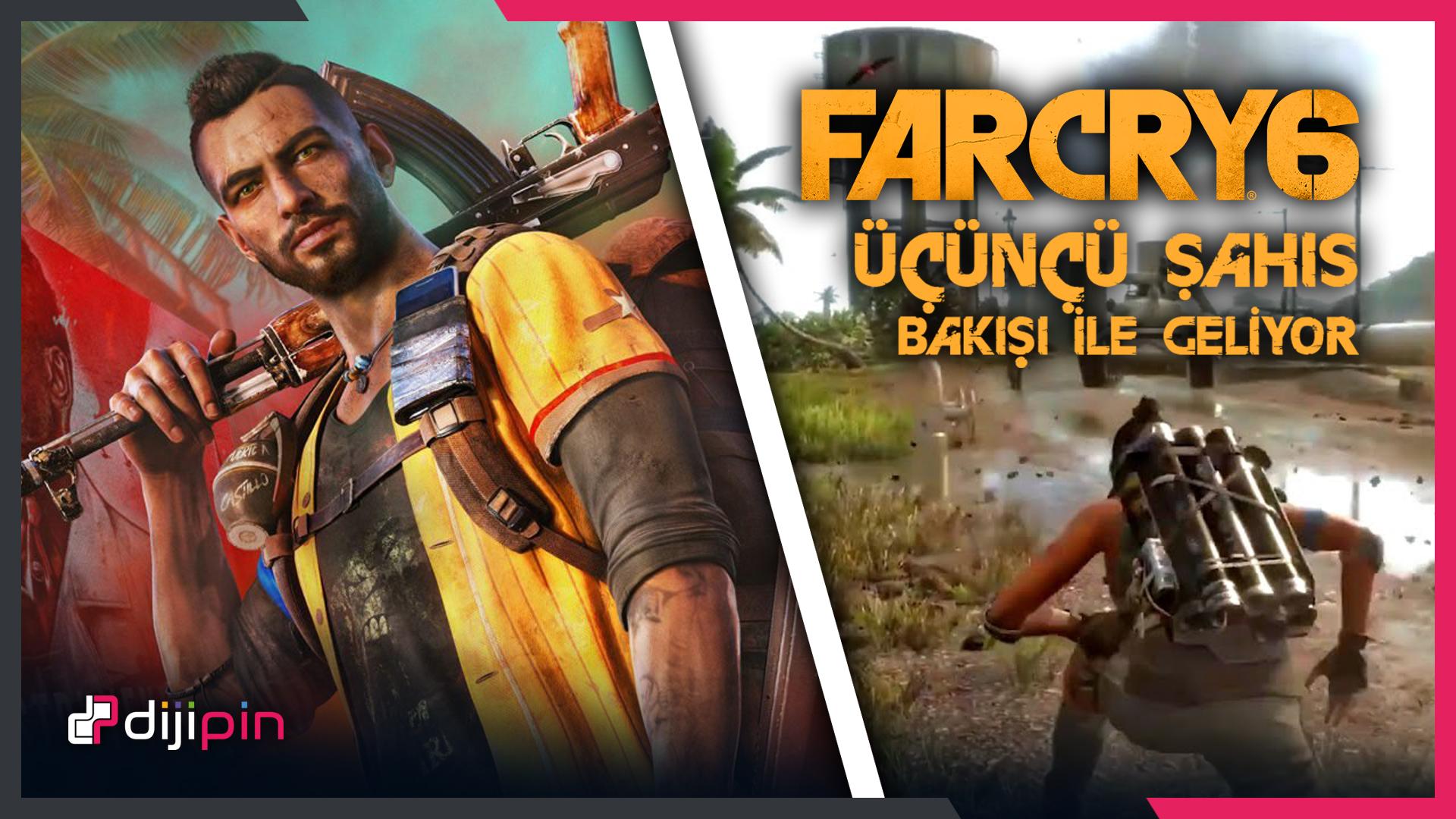 Far Cry 6 Üçüncü Şahıstan Oynanabilecek