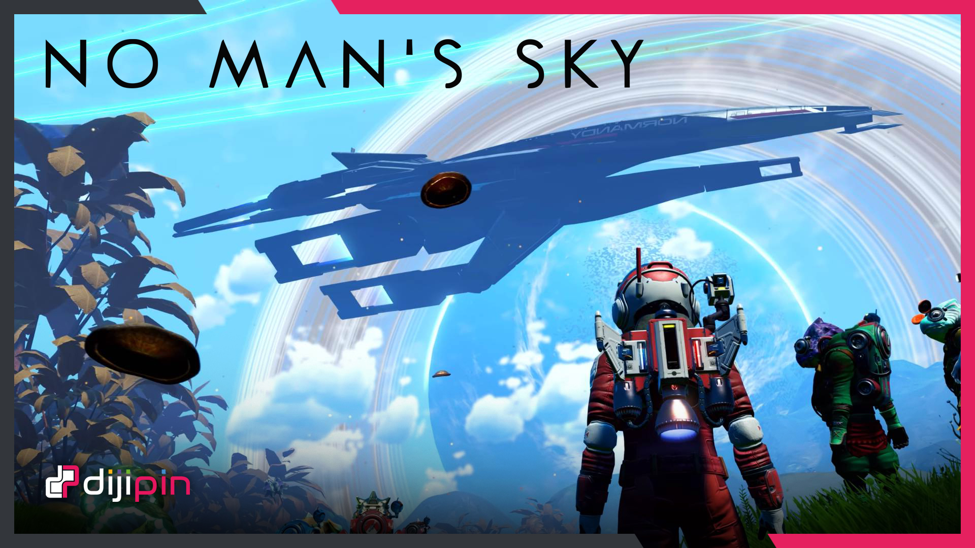No Man's Sky'a Mass Effect Üssü: NORMANDY Geldi!