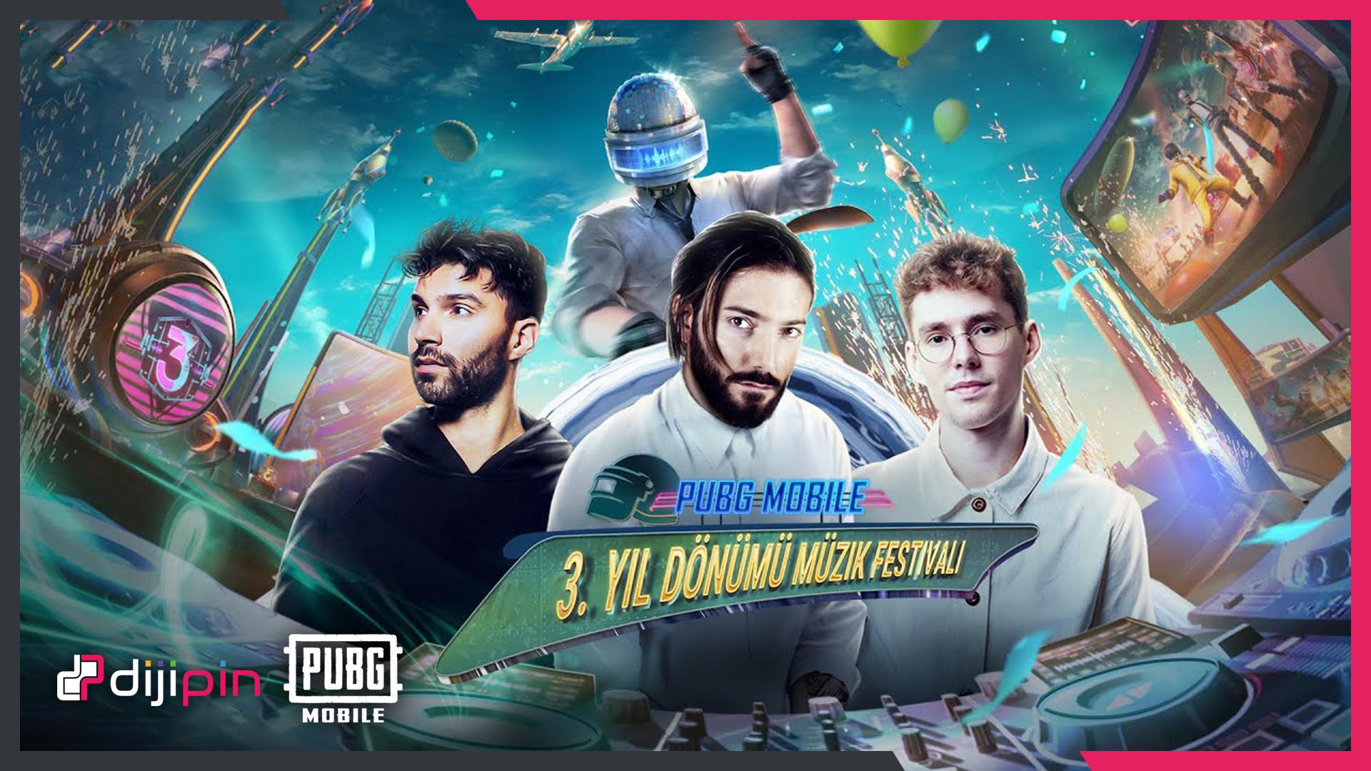 PubG Mobile 3.Yıl Dönümü Müzik Partisinde Alesso Rüzgarı Esecek