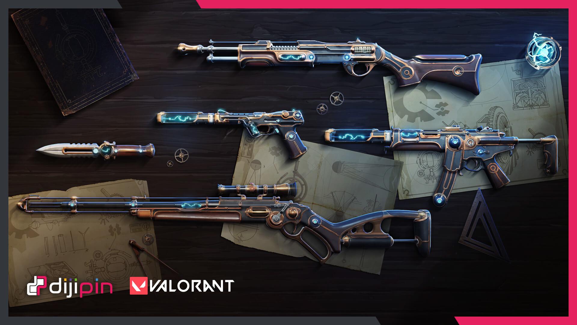 Valorant Yeni Silah Kostüm Paketi Sızdı!
