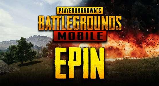 Pubg Mobile UC Epin